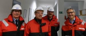 Tehnički prijem prve tranše šina tipa 60 E1 u fabrici Voest ALPINA u Leoben Donawitz
