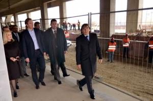 Predsednik Vlade Republike Srbije posetio gradilište